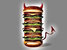 evil cheeseburger