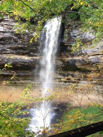 munising falls pictured rocks