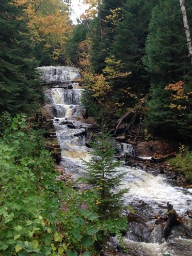sable falls grand marais pictured rocks